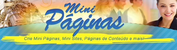 Rodapé - Mini Páginas